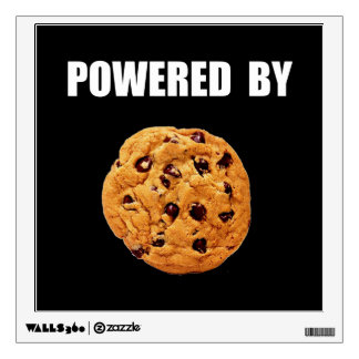 Powered By Cookie Wall Decal