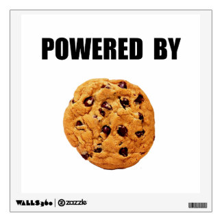 Powered By Cookie Wall Sticker