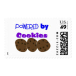 """Powered by Cookies""---funny T-shirt Stamp"
