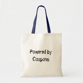 Powered by Coupons Tote Bag