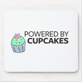 Powered by Cupcakes Mouse Pad