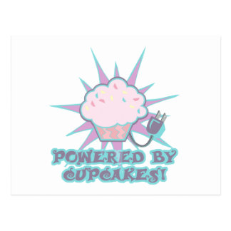Powered By Cupcakes Post Cards