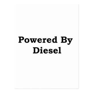 Powered By Diesel Postcard