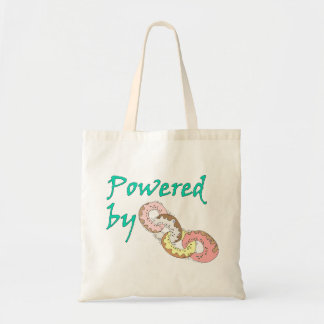 Powered By Donuts Tote Bag