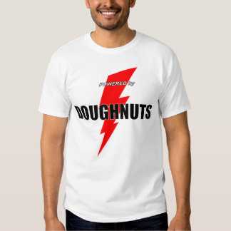 Powered by Doughnuts T-shirt