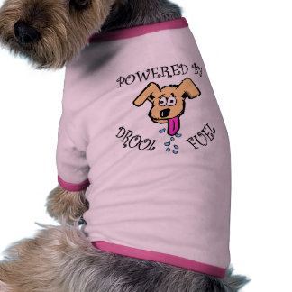 POWERED BY DROOL FUEL DOGGIE TEE SHIRT