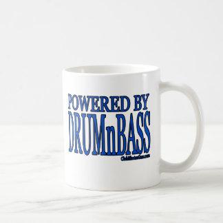 powered by DRUMnBASS Coffee Mug