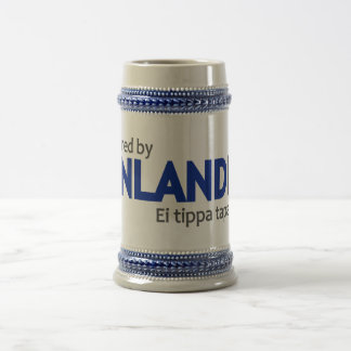 Powered by Finlandia mug - choose style & color