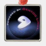 Powered by GENTOO LINUX Logo Christmas Tree Ornaments
