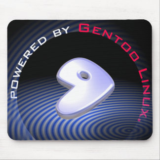 POWERED BY Gentoo Linux Mouse Pad