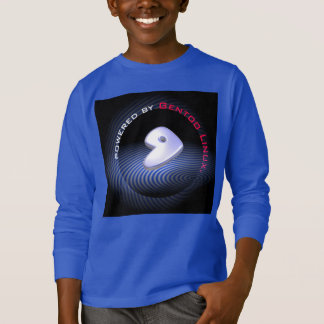 POWERED BY Gentoo Linux T-Shirt