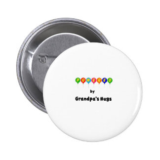 Powered by Grandpa's Hugs 2 Inch Round Button