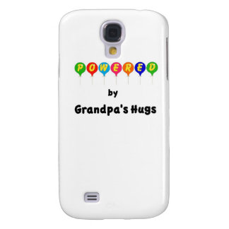 Powered by Grandpa's Hugs Samsung Galaxy S4 Covers