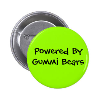 Powered By, Gummi Bears Pinback Button