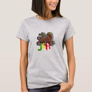 Powered By Jah Lion of Judah Rastafari T/Shirts T-Shirt