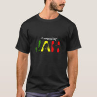 Powered By Jah Rastafari T-Shirt