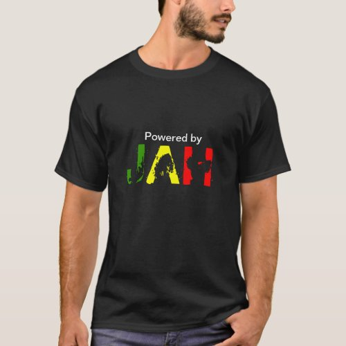 Powered By Jah Rastafari T_Shirt