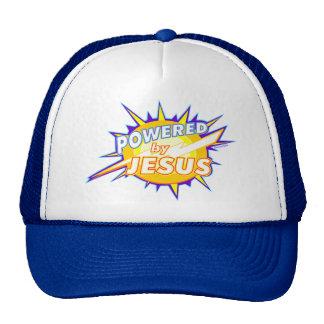 Powered by Jesus Christian gift design Trucker Hat