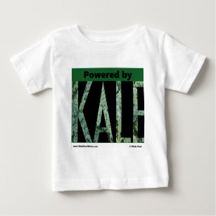 Powered by KALE Baby T-Shirt