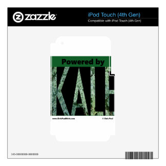 Powered by KALE Decal For iPod Touch 4G
