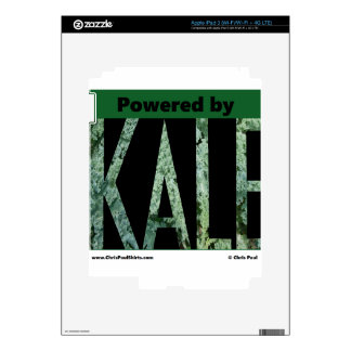 Powered by KALE iPad 3 Decal