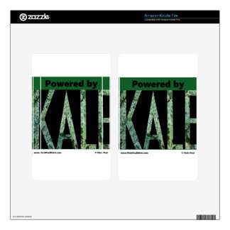 Powered by KALE Kindle Fire Decal