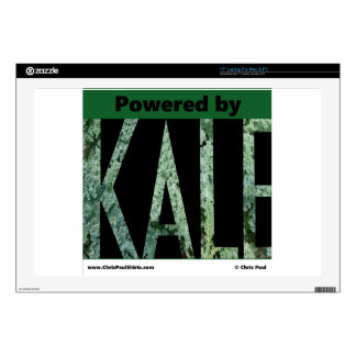 """Powered by KALE Skins For 17"""" Laptops"""