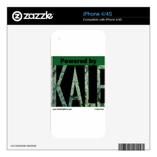 Powered by KALE Skins For iPhone 4S