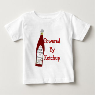 Powered By Ketchup Baby T-Shirt