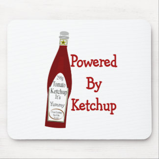 Powered By Ketchup Mouse Mats