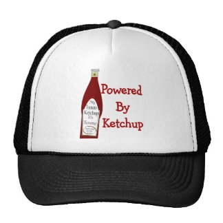 Powered By Ketchup Trucker Hats