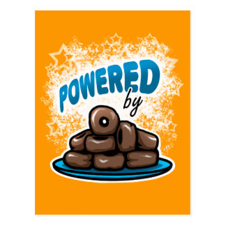 Powered by Little Chocolate Donuts postcard