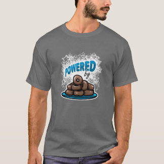 Powered by Little Chocolate Donuts T-Shirt