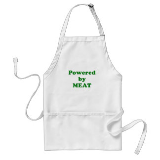 Powered by Meat Adult Apron