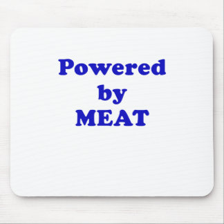 Powered by Meat Mouse Pad