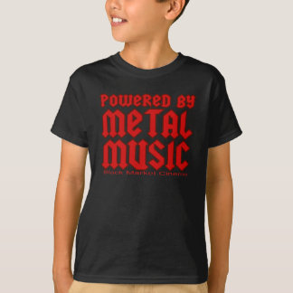 Powered by metal Music  fans Death metal T-Shirt