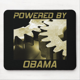 Powered By Obama Mouse Pads