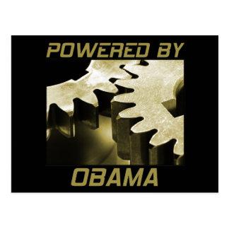 Powered By Obama Postcard