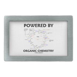 Powered By Organic Chemistry (Krebs Cycle) Belt Buckle