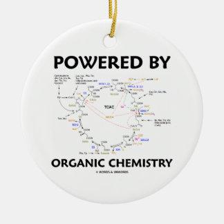 Powered By Organic Chemistry (Krebs Cycle) Ceramic Ornament