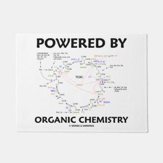 Powered By Organic Chemistry Krebs Cycle Humor Doormat