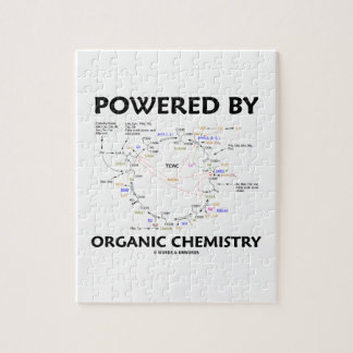 Powered By Organic Chemistry (Krebs Cycle) Jigsaw Puzzle