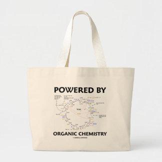 Powered By Organic Chemistry (Krebs Cycle) Large Tote Bag