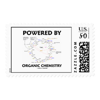 Powered By Organic Chemistry (Krebs Cycle) Postage