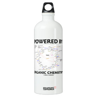 Powered By Organic Chemistry (Krebs Cycle) Water Bottle