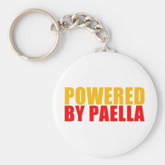 Powered by Paella Keychain