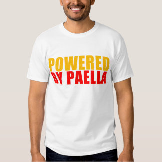 Powered by Paella T-shirt