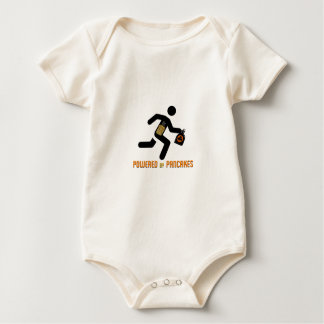 Powered by Pancakes Baby Bodysuit