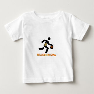 Powered by Pancakes Baby T-Shirt