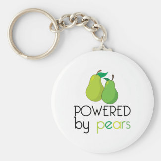 Powered By Pears Key Chains